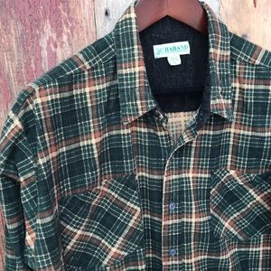 Vintage Plaid Shirt XL